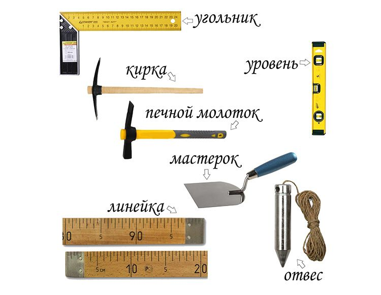 Перечень инструментов является ориентировочным