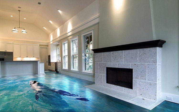 Декор на полу предъявляет определённые требования к остальным предметам интерьера