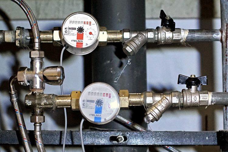 Водомеры для горячей и холодной воды