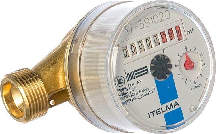 Установленный на счетчик воды «Itelma» магнит значительно меняет показания