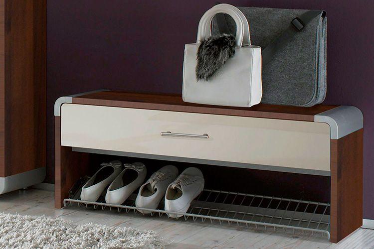 Банкетка в прихожую для обуви с сиденьем