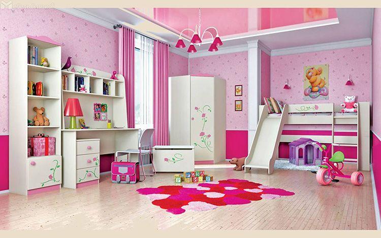 Модульная мебель позволяет полноценно обустроить детскую комнату