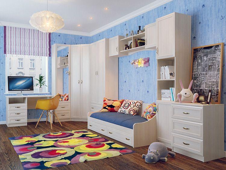 Комплект детской мебели для девочек
