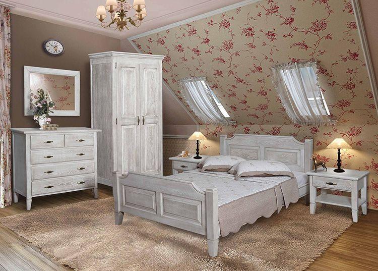 Спальный гарнитур в стиле «прованс»: только самое необходимое