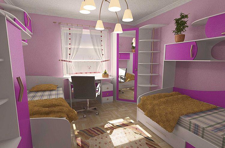 Мебель для детской комнаты должна быть яркой и интересной