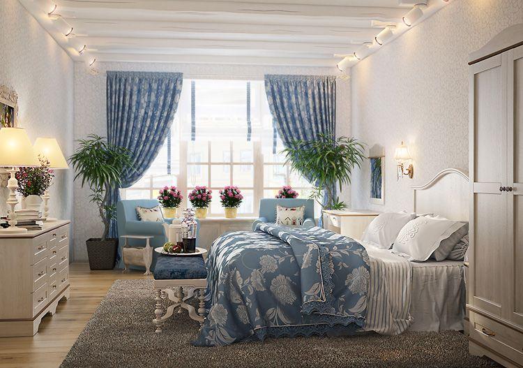 Декоративные цветы в спальне позволят просыпаться по утрам под приятный аромат