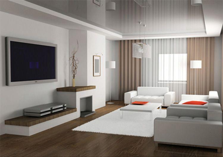 Гостиная в стиле «минимализм» – это много света и свободы