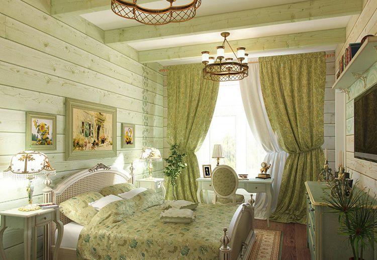 В спальне всё должно быть из натуральных и экологически чистых материалов