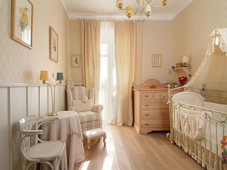 Комната для малыша должна быть выполнена в мягких и светлых тонах