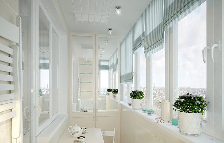 Светлые тона, присущие прованскому стилю интерьера, – лучшее решение для узких и небольших помещений