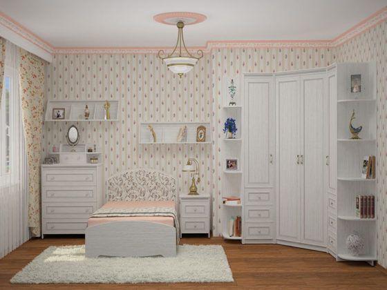 Детская мебель для девочек: выбираем лучшее оформление комнаты для юных модниц