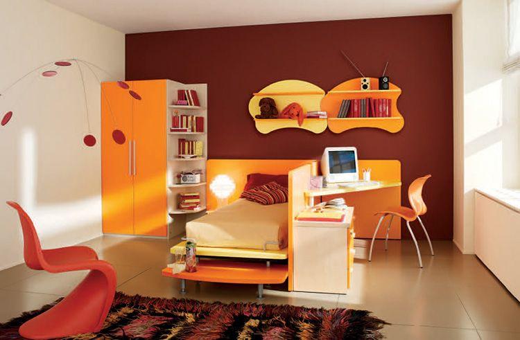 Детская комната для девочки-школьницы