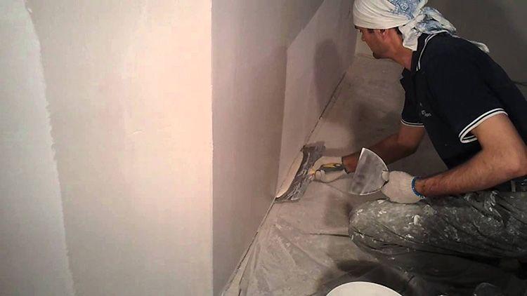 Шпаклёванные стены можно в любой момент перекрасить и тем самым изменить дизайн интерьера