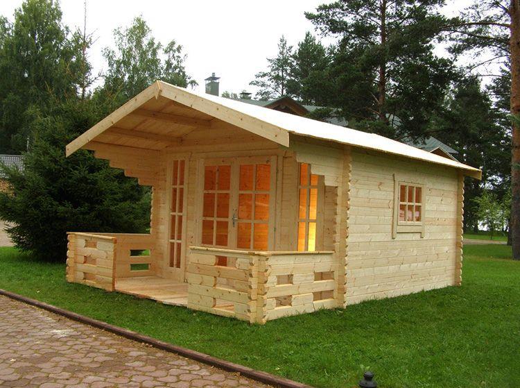 Небольшой, но свой, а главное, вы всегда сможете сказать: я построил дом сам!