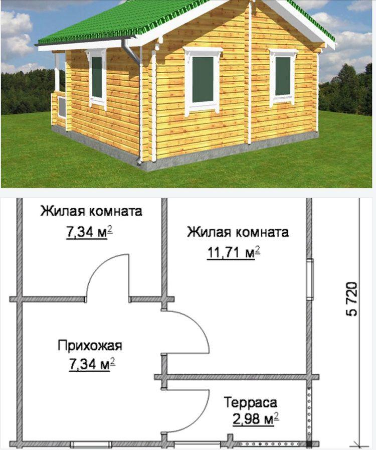 К примеру, в этом проекте для покупателя предлагается использовать проект с уже собранными оконными рамами