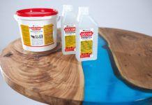 Создаём бижутерию, мебель, заливаем пол, или Зачем нужна прозрачная эпоксидная смола для заливки