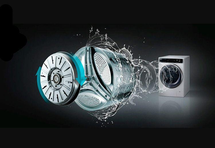 Впервые система Direct Drive была использована в стиральных машинах LG в 2005 году. В этом случае привод присоединяется напрямую к барабану, что исключает применение соединительных элементов – самых уязвимых частей моторов.