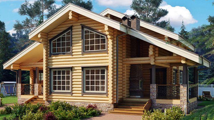 Проекты домов «под ключ» начинаются от 500 тысяч рублей до нескольких миллионов