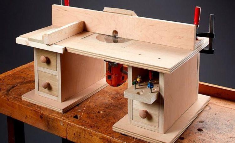 Один из вариантов самодельного станка малой мощности