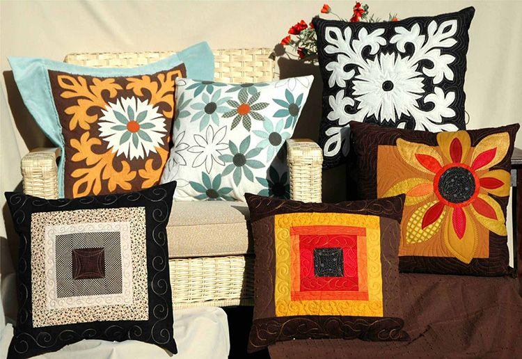 -16-1 Декоративные подушки своими руками — фотосоветы