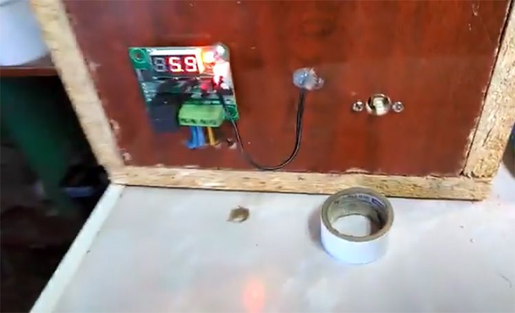 Внешний блок системы терморегуляции лучше разместить в корпусе