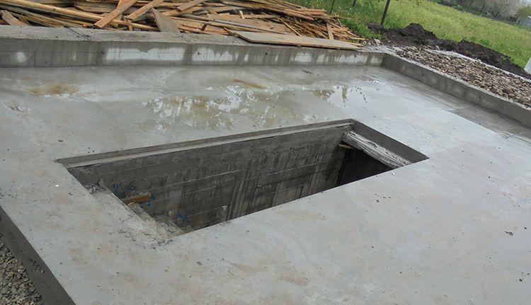 Необходимое количество бетона следует рассчитать заранее