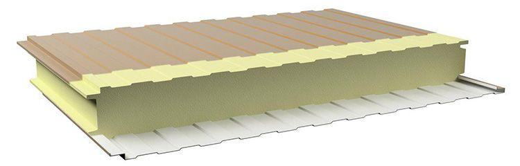 Пенополиуретановый утеплитель обеспечивает соответствие строения современным требованиям