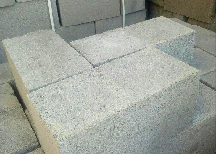 Фундаментные блоки из шлакобетона