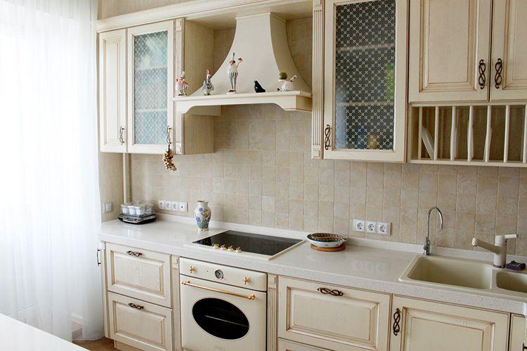 «Сливочная» кухня в прованском стиле