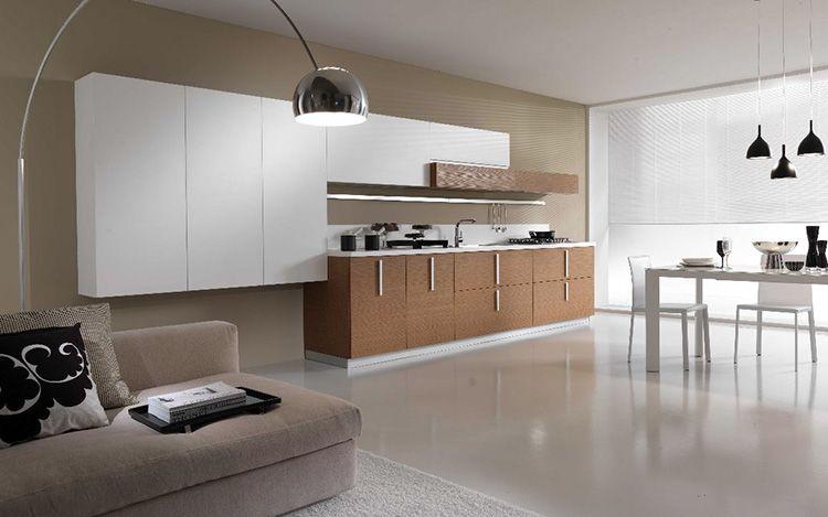 Современные кухонные гарнитуры: фото, особенности, критерии выбора