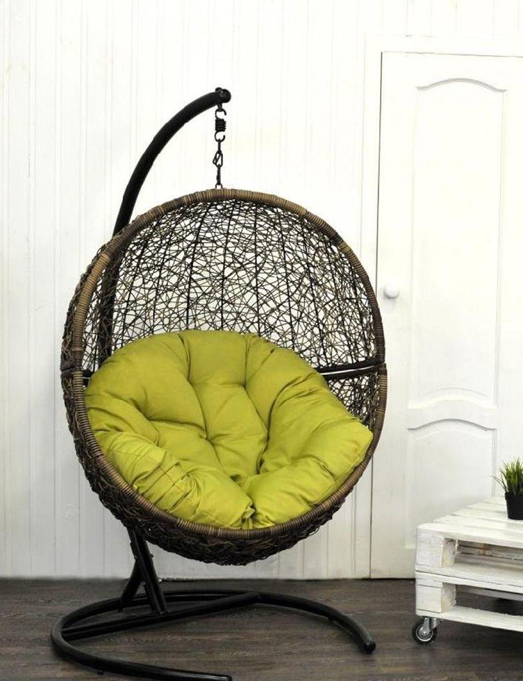 В таком кресле можно отдыхать с комфортом