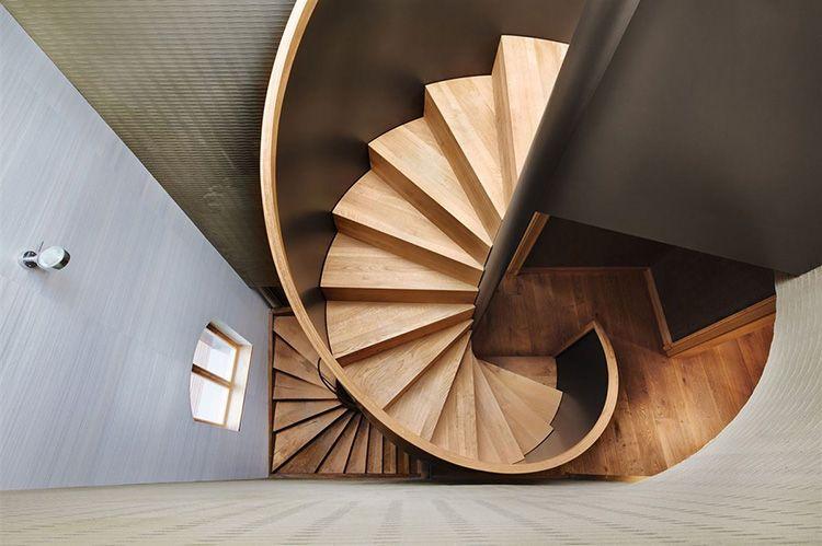 Винтовая конструкция позволяет значительно сэкономить пространство