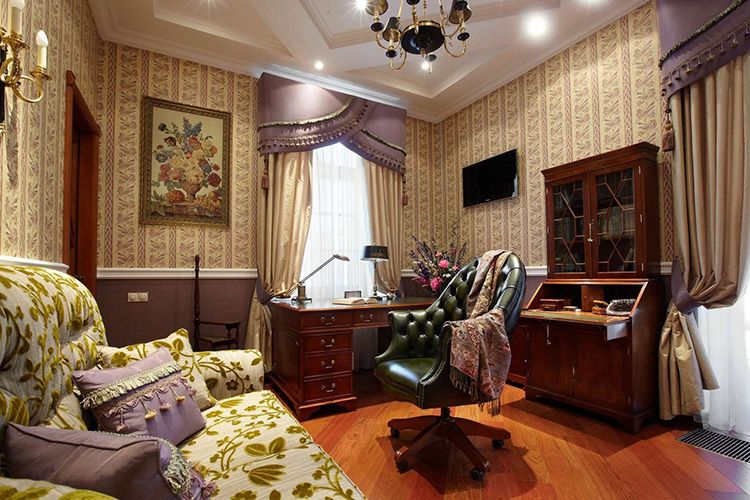 Фото английского стиля в интерьере квартиры