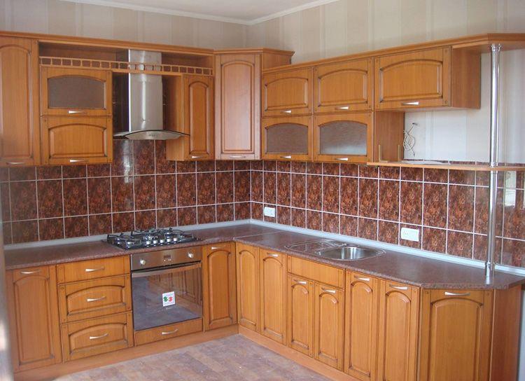 МДФ фасады для кухни в классическом стиле