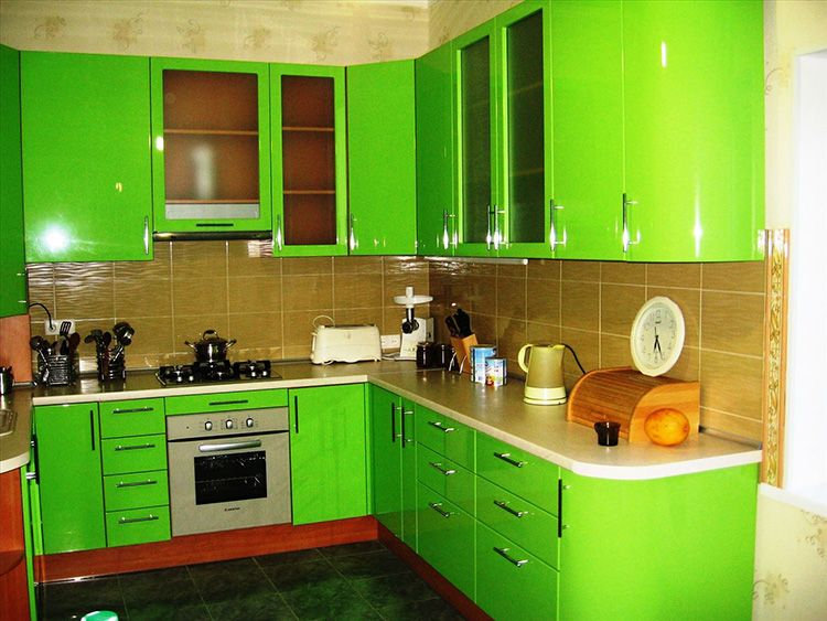 Зелёный цвет действует успокаивающе