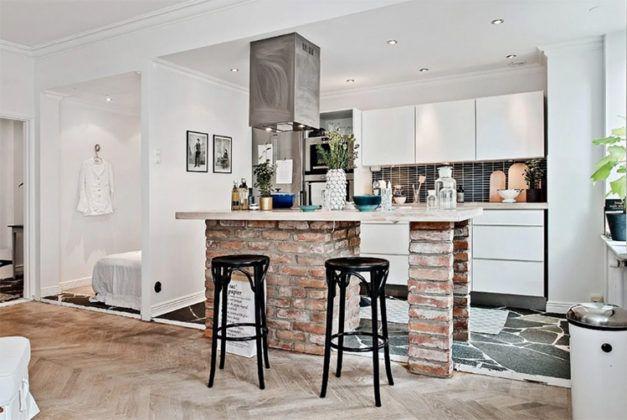 Обустройство кухни в скандинавском стиле: фото интерьера, особенности и рекомендации