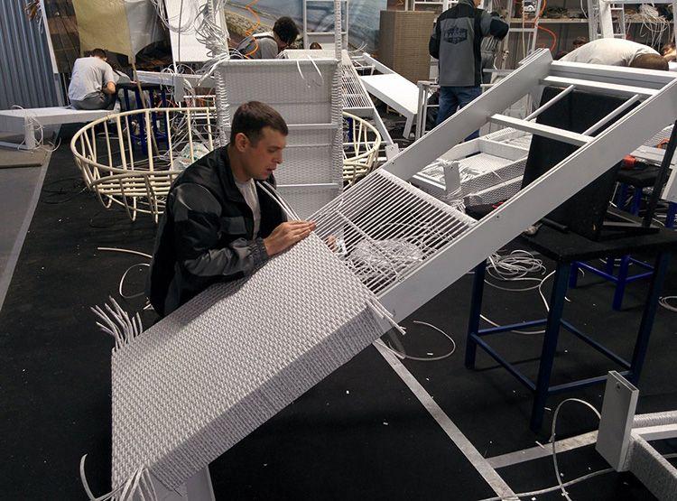 На изготовлении мебели из экоротанга можно построить выгодный бизнес