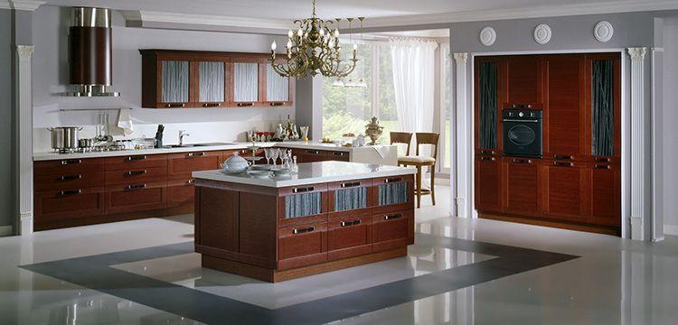 Островок на кухне может служить рабочим или обеденным столом