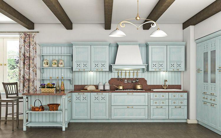 Прованская кухня – мечта любой хозяйки, ценящей уют и спокойствие