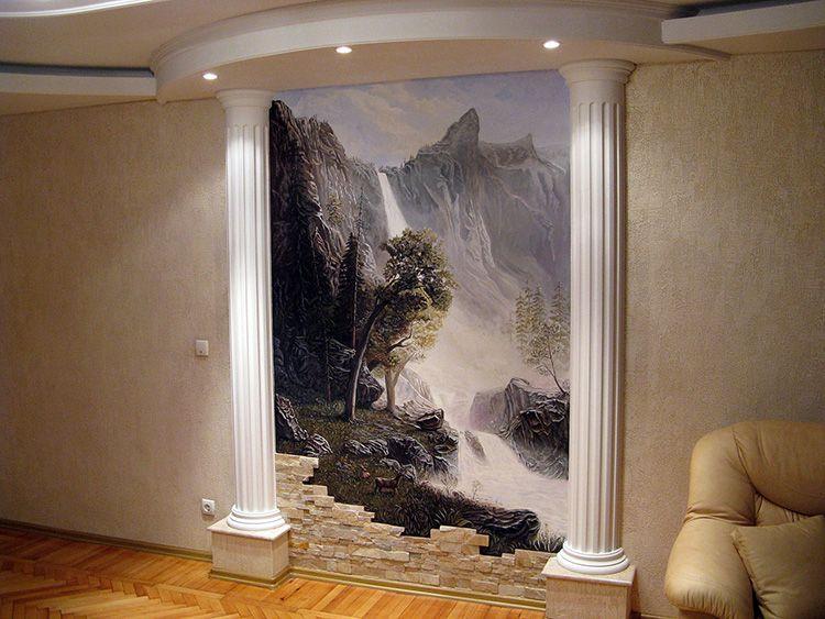 Панно на стену – необычное украшение, которое быстро изменит облик комнаты и даже обычная однотонная стена превратиться в фон для эффектного украшения.
