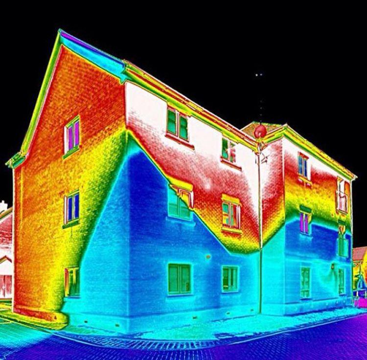 Вот так или примерно так будет выглядеть ваш дом «глазами» умного прибора