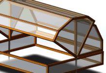 Парник «Бабочка»: идеальный парник для маленького дачного участка