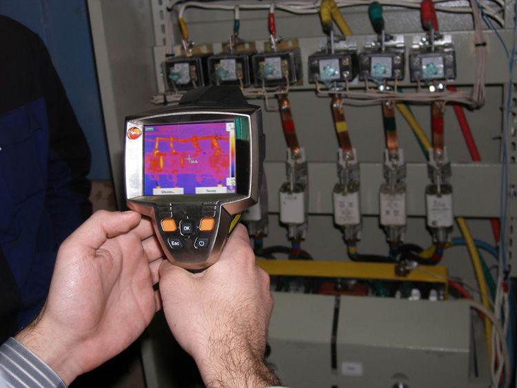 Энергоаудит тепловизором на промышленном объекте