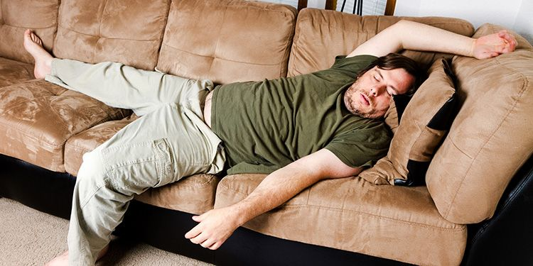 Иногда хватает несколько секунд, чтобы понять − это ваш диван. Ну, либо вы слишком устали