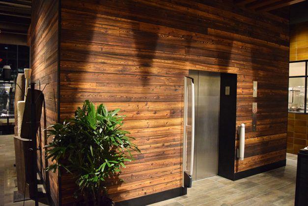 Обожженное дерево: изучаем технологию защиты натуральной древесины от износа