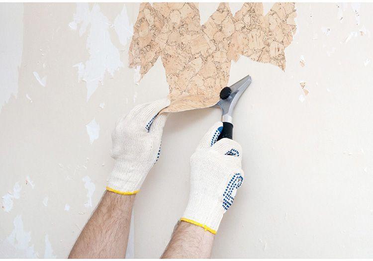 Следующий этап – удаление старых обоев, штукатурки или краски. Для того чтобы процесс не затянулся, можно воспользоваться специальными составами