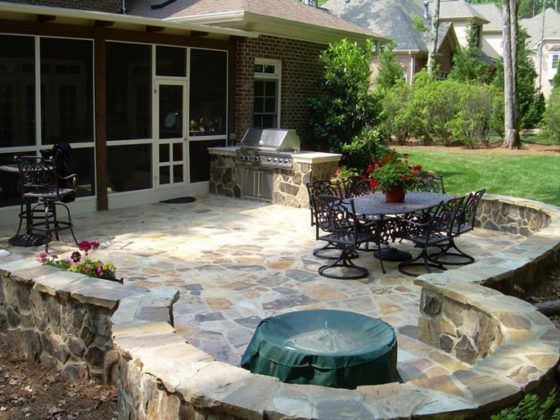 Ландшафтный дизайн двора частного дома: фото, которые помогут изменить ваше представление о том, каким должен быть рай