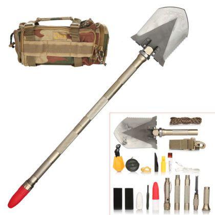 Складная саперная лопатка: незаменимый помощник туриста, рыбака, охотника и автомобилиста