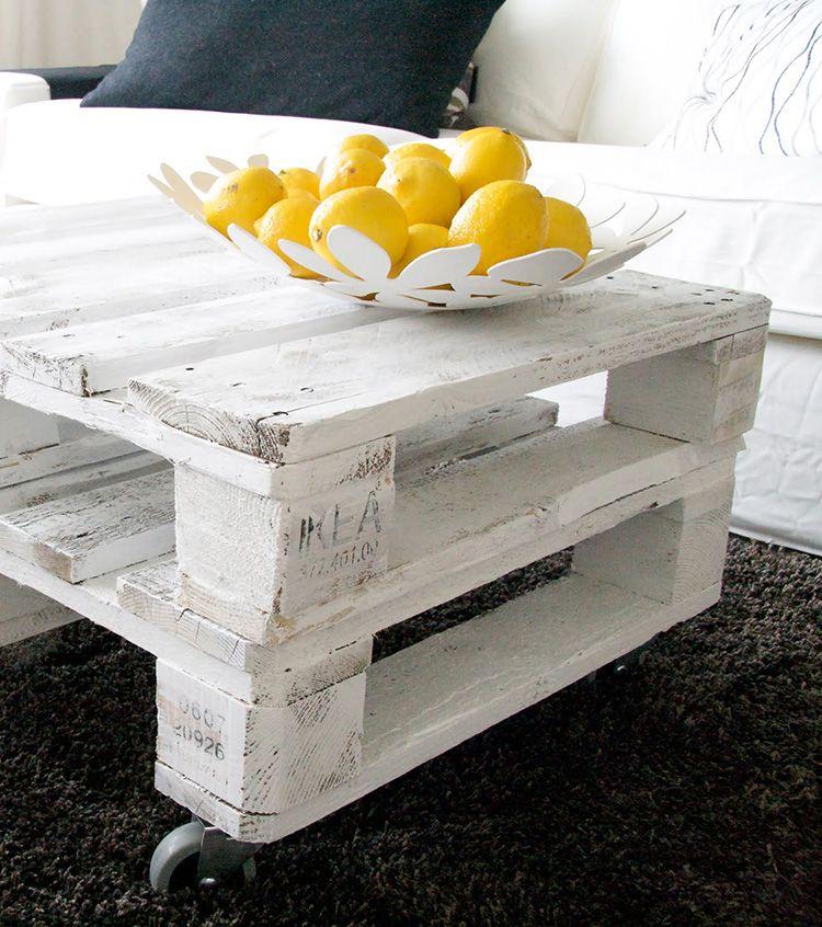 Конструкция из деревянных каркасных ящиков очень популярна в последнее время. Изготовление такого столика не требует дополнительных усилий