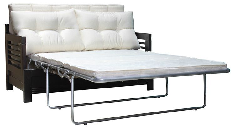 Такая кушетка превратится во вполне себе просторное спальное место